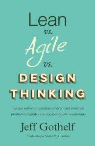 libro PM lean agile design thinking